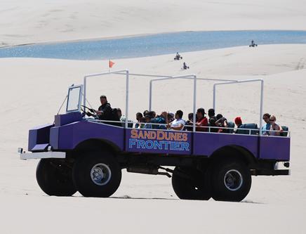 Sand Dunes Tours in Big Dune Buggy at Sand Dunes Frontier