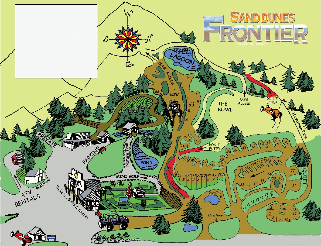 Florence Oregon RV and ATV Camping at Sand Dunes Frontier on