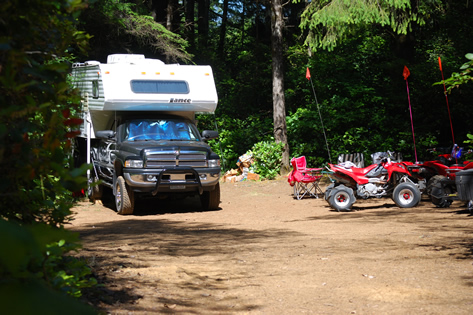 Florence Oregon RV Camping