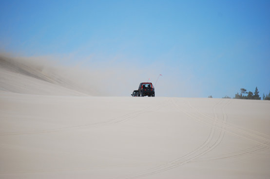 Florence Oregon RV and ATV Camping at Sand Dunes Frontier