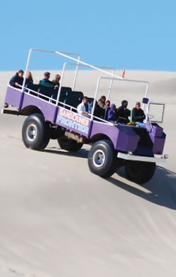 Guided Dune Tours in Florence, Oregon